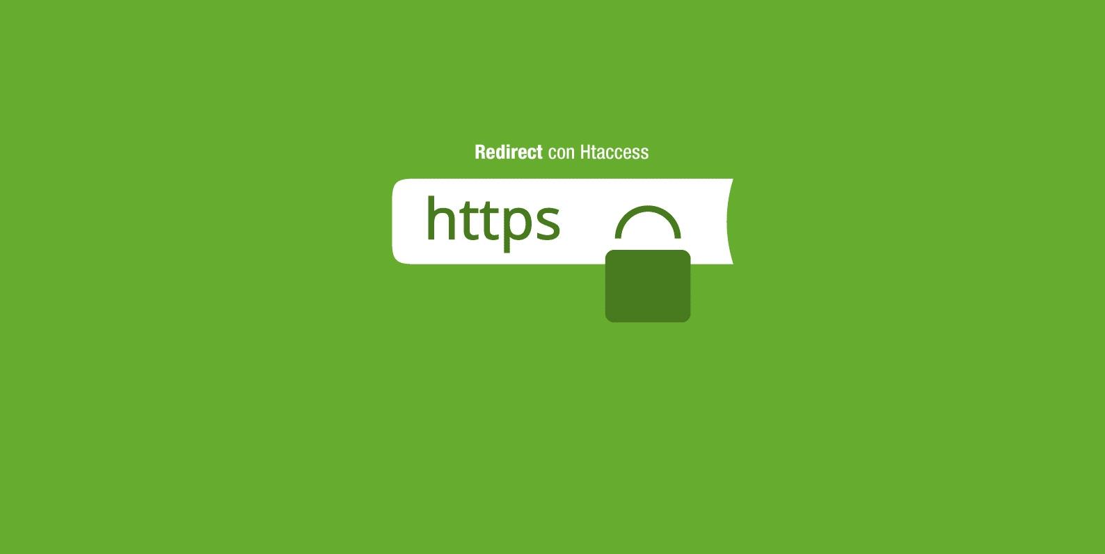 redirect da http a https con Htaccess